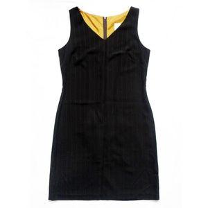 NEW V-Neck Sleeveless Pinstriped Dress 10